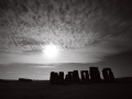 11 Black and White Stonehenge