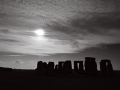 12 Black & White Stonehenge