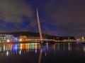 SA993 Twilight Swansea Sail Bridge