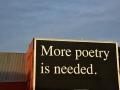 SA901 Poetry No More