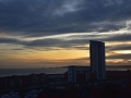 SA909 Sunset Big Wheel