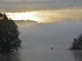 BBA962 Morning Mist Llangorse Lake