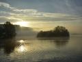 BBA960 Autumn Sunrise Llangorse Lake