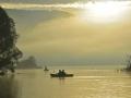 BBA964 Morning Mist Llangorse Lake