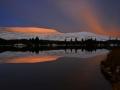 BBA912 Dawn Reflections Beacons Reservoir