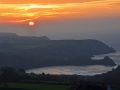 GA534 Sunrise Three Cliffs
