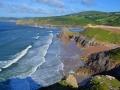 GA554 Summer Tide Three Cliffs Bay