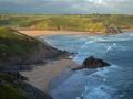 GA553 The West Side Three Cliffs Bay