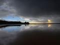 GA548 Storm Reflections Three Cliffs Bay