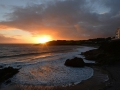 GA218 Winter Sunset Langland