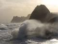 GA542 Angry Sea Three Cliffs