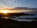GA546 Sunrise Three Cliffs Bay