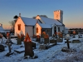 GCA04 Winter Dawn Pennard Church