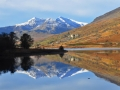 WNS35 Snowdon Reflection Llyn Mymber