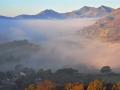 WNS32 Autumn Fog Capel Curig