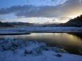 WND10 Winter dawn Mawddach Estuary