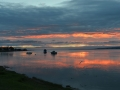 GD40 Sunset Reflections Penclawdd