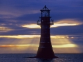 GD03 Golden Rays Whiteford Lighthouse