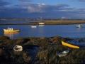 GD21 Fishing Boats Loughor Estuary
