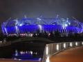 33 Stadium in Blue