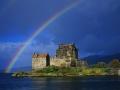 S10 Rainbow Eilean Donan Caslte