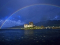 S11 Rainbow Eilean Donan Castle