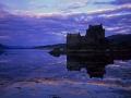 S12 Sunset Eilean Donan Castle