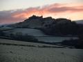 WSC21 Winter Dawn Carreg Cennen Castle