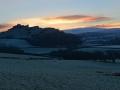 WSC22 Winter Dawn Carreg Cennen Castle