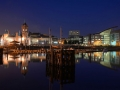 WSCF23 Night Reflections Cardiff Bay