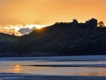 WSC15 Sunset Llanstephan Castle