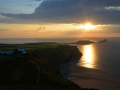 GB39 Autumn Sunset Rhossili
