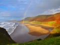 GB13 Autumn Rainbow Rhossili